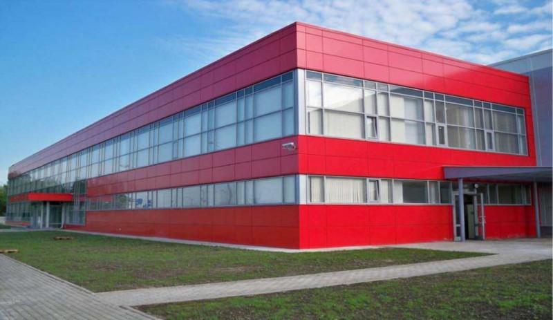 остекления фасада здания